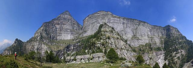 Poncione d'Alnasca e Cresta della Föpia, Valle Verzasca. Canton Ticino, Svizzera