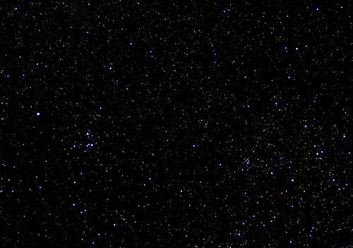 night astronomy ic2395 ic2391 delta velorum vela starcluster opencluster deepsky darksky