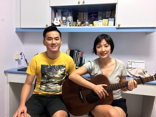 Guitar lessons Singapore Chin Yee