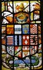 Mickleton, Gloucestershire, St Lawrence,  heraldic glass by johnevigar