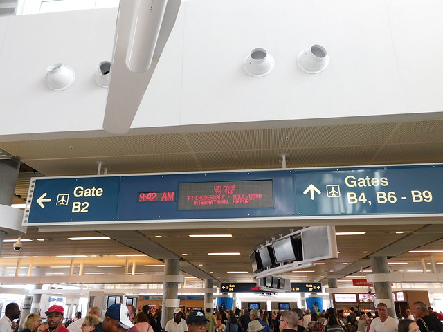 Welcome to Fort Lauderdale-Hollywood International Airport