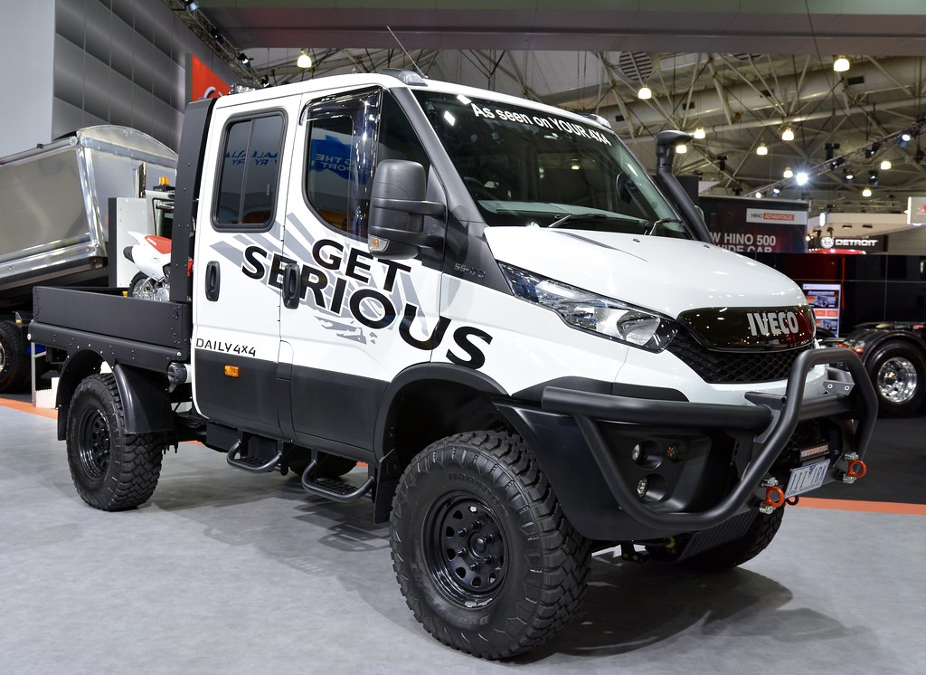 4 X 4 >> Iveco Daily 4X4 #53 | Brisbane truck show 2017 | Russell ...