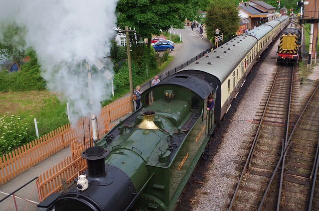 Steam up for Totnes