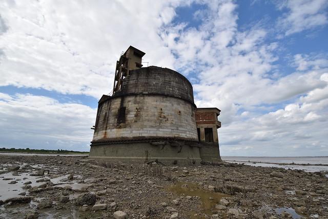 Grain Tower Battery 1855 Granite Tower