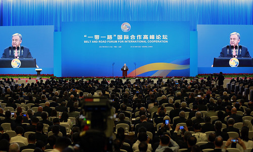 Secretary-General Addresses Belt and Road Initiative Forum, Beijing | by United Nations Photo