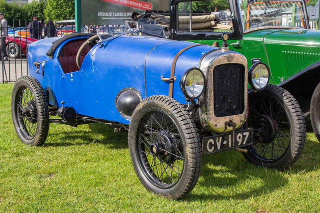 Brooklands Classic Breakfast May 2017 - 1929 Austin 7 Special (CV 1197)
