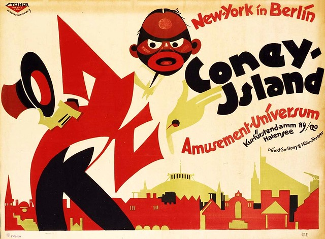 New York in Berlin, Coney Island, Universe of fun (c.1920)