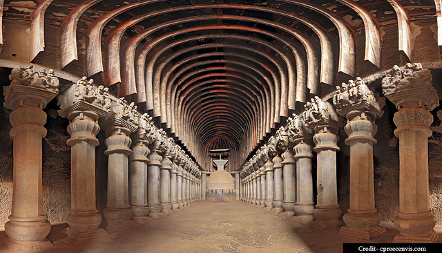 karla-caves - chaitya Hall-cpreecenvis.nic