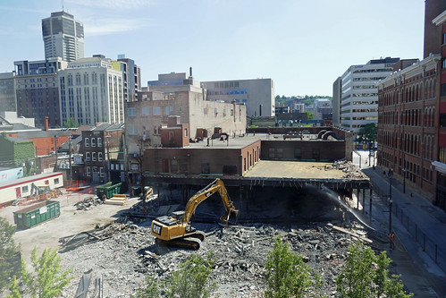 View from above Kresge's building demolition Jun 14 (4) | by .JCM.