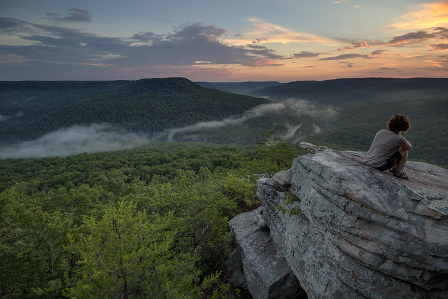 Lindsay McReynolds, Welch Point, Bridgestone Firestone Centennial Wilderness WMA, White County, Tennessee