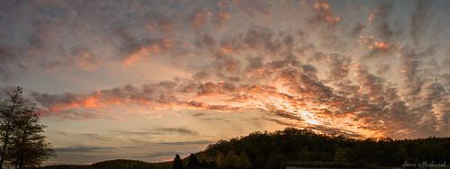 smack53 water statepark newjerseystatepark spring springtime sunset sundown evening eveningsky clouds paintedsky sky nikon d300 nikond300 waywayandastatepark vernon newjersey panorama