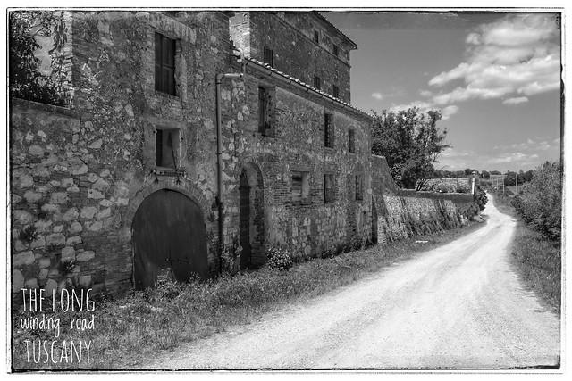 The long, winding road, Tuscany