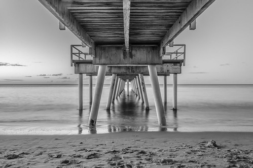 filter 18105 d7000 nikon tripod australia sea sand long exposure sunset black white