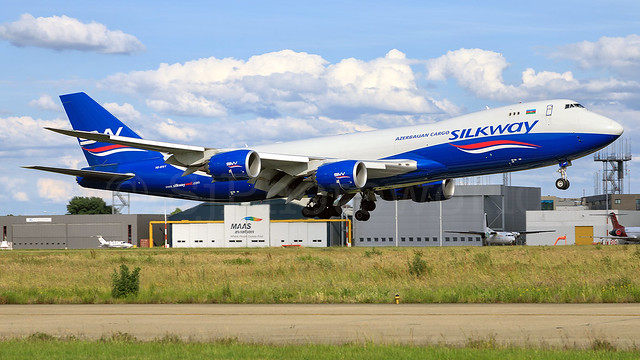 Silkway West Airlines boeing B747-8F VQ-BWY