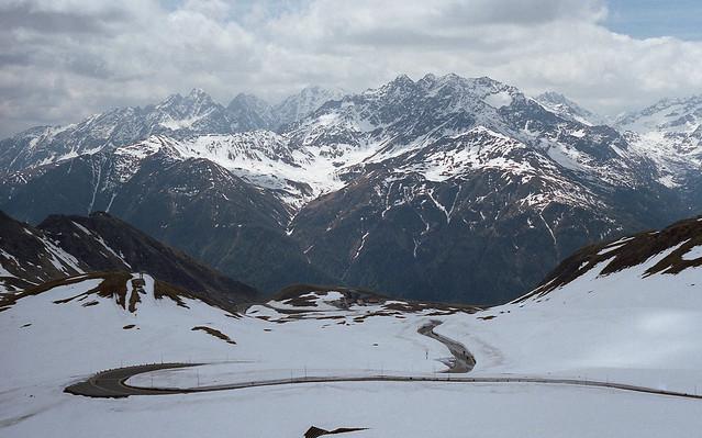 The Grossglockner - highest mountain in Austria