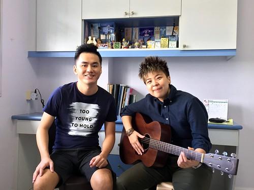 1 to 1 guitar lessons Singapore Janessa