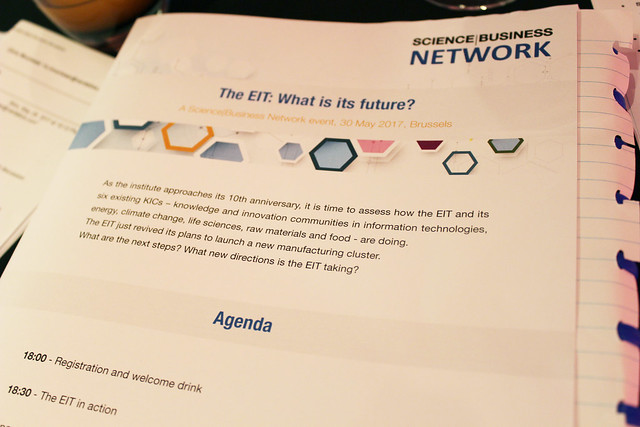 The EIT: What's its future?, 30 May 2017, Brussels
