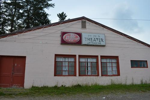 mtzion drivein theater calhoun county wv westvirginia closed abandoned