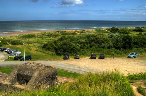 Omaha Beach - Widerstandsnest 65, Ruquet Valley, Easy Red sector, Normandy