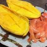 Mango & salmon @ Home