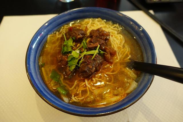 Spicy beef noodles @ Lakou @ Paris