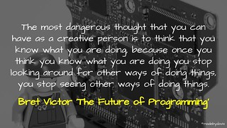 The Future of Programming | by mrkrndvs