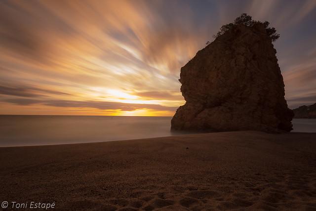 Illa roja, Begur