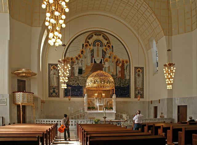 In der Kirche am Steinhof