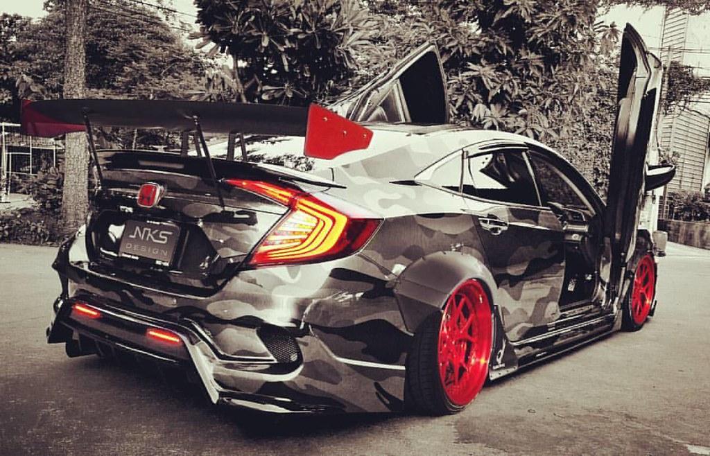 Honda Civic Custom >> Honda Civic Fc Fk Type X Wide Body 2017 Custom