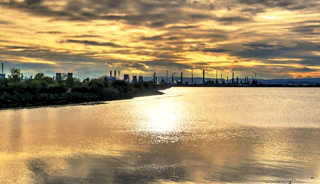 Black Gold,Grangemouth Refineries,Scotland