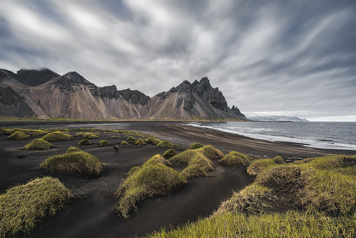** Critique This Photo Please**  The Grassy Knolls of Vesturhorn, Iceland | by Foto Fresh