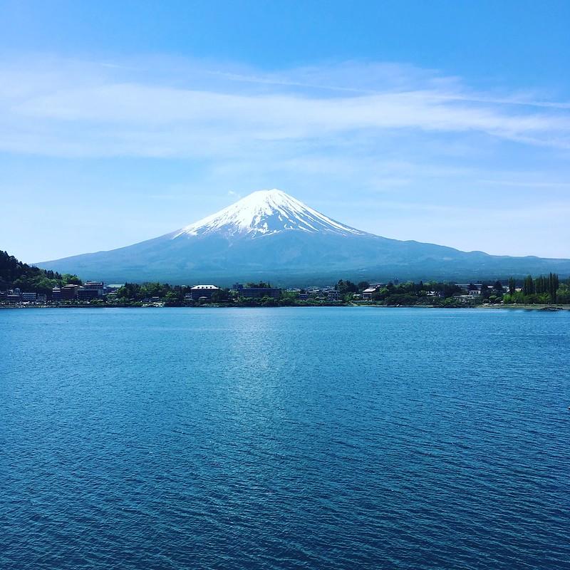 Mt.Fuji from Kawaguchi-lake