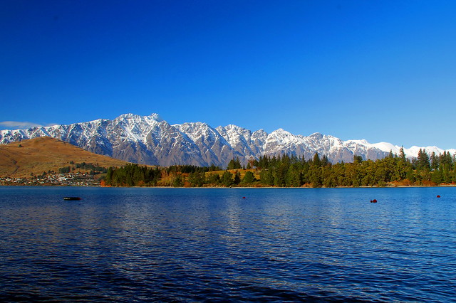 The Remarkables from Queenstown, New Zealand