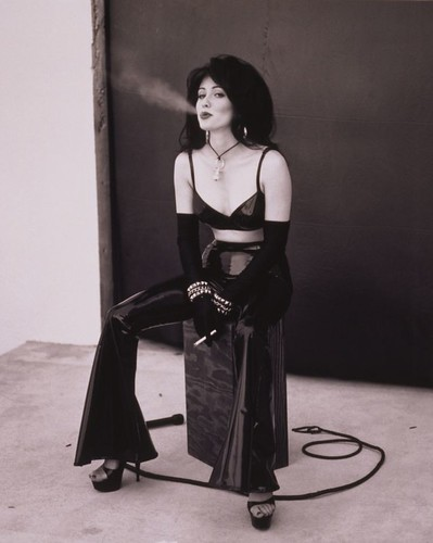 Shannen Doherty smoking 2   by Nicholas R. Andrew