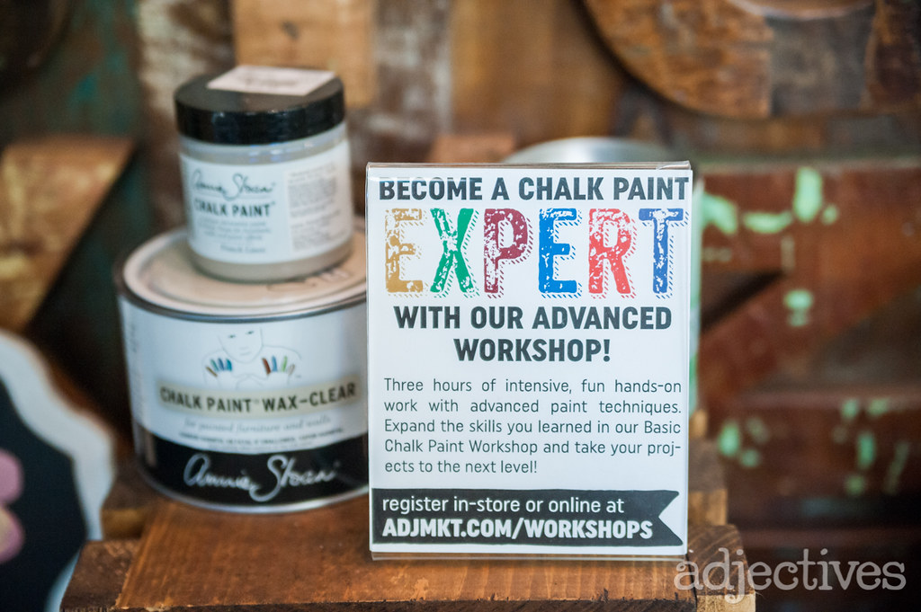 Chalk Paint® Furniture Painting Classes in Adjectives Winter Garden-3472