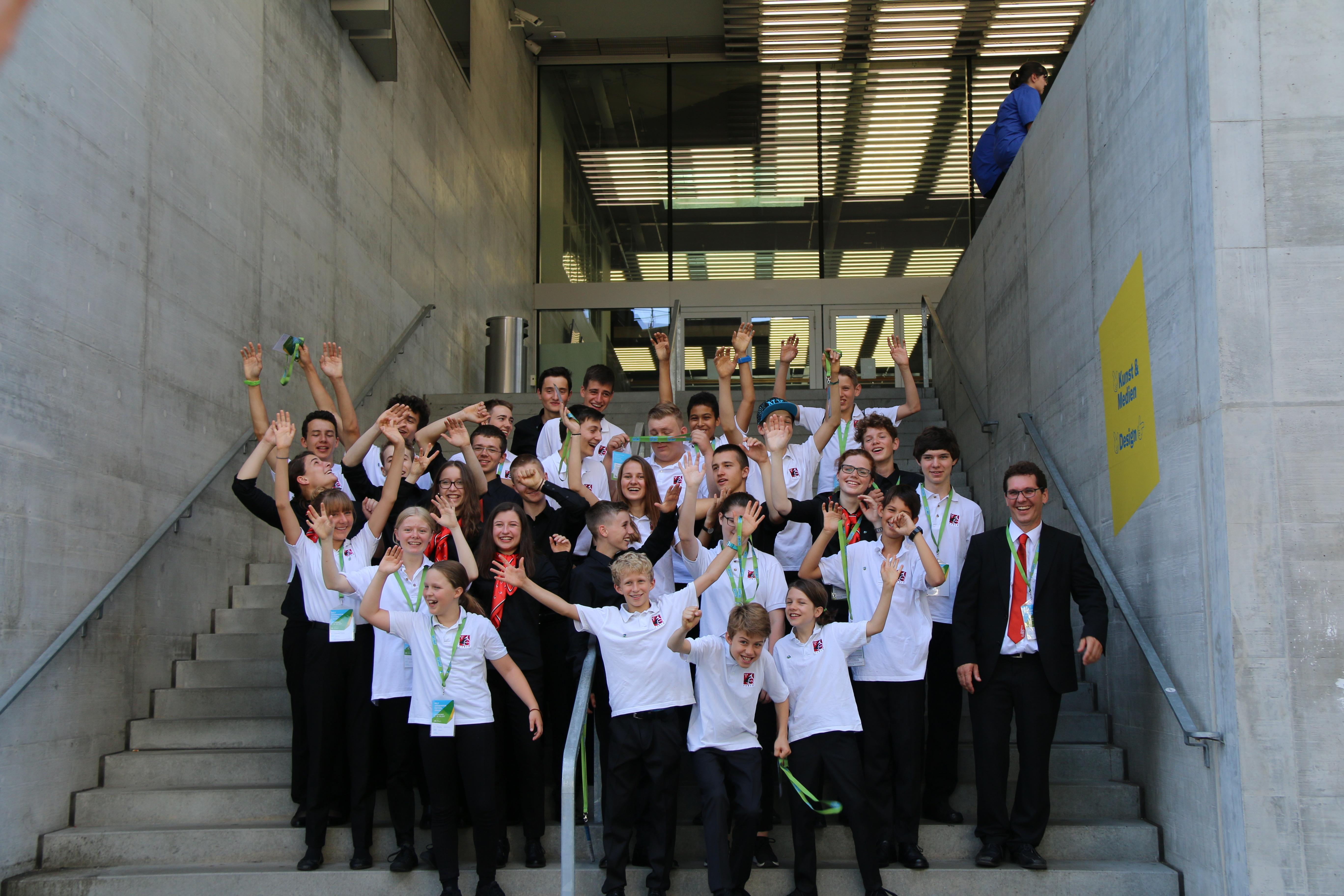Welt Jugendmusik Festival Zürich, 8. Juli