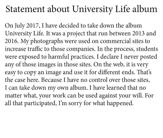 Statement University Life