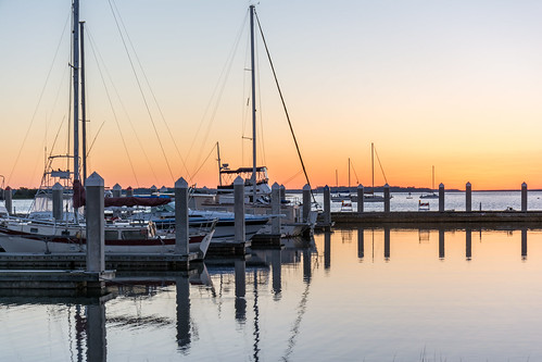 ameliaisland fernandinabeach florida jackkennard nikon docks nikond5200 travel travellocal atlanta ga usa boats sailboats sunset reflection