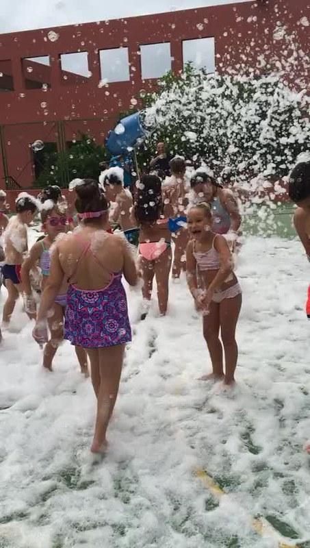 Fiesta de la espuma