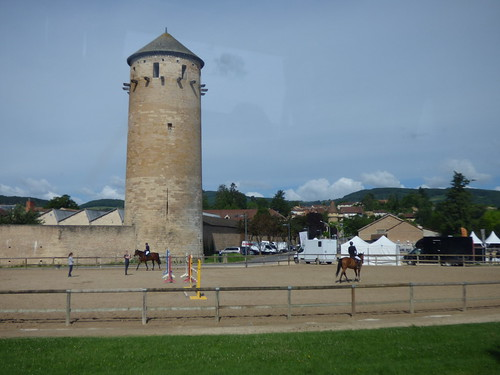 Route de la Digue, Cluny - The Tour Ronde -  The Cluny National Stud | by ell brown