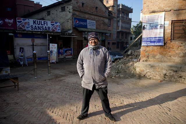 NPL - Nepalese man - Bhaktapur - Nepal