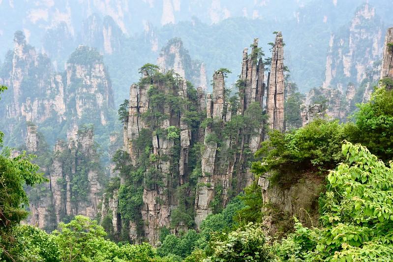 Tianzi Mountain, Zhangjiajie, Hunan, China, 天子山, 張家界, May 31, 2017