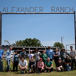 Wed, 05/31/2017 - 12:06pm - Group photo at Alexander Ranch.