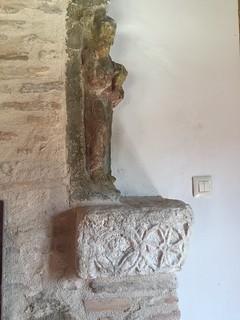 Resto visigótico hallado y conservado en el Convento de los Carmelitas | by eduardoasb