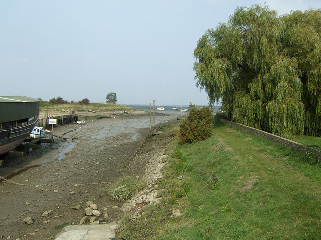 Wharf at Lower Halstow