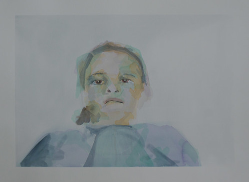 Sadie | Sold | 2011 | 76x56cm | Watercolour Paper Cold pressed