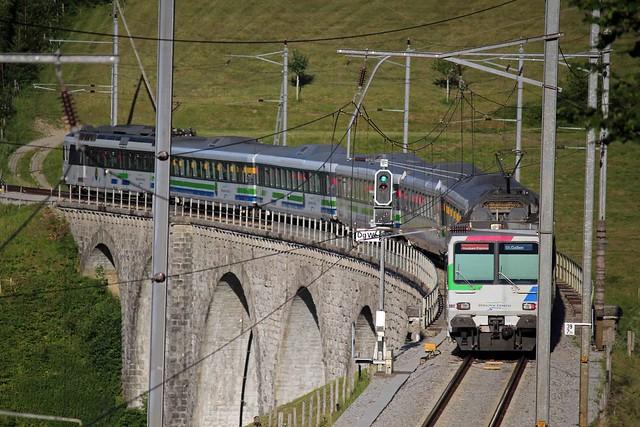 Summer Train to Degersheim