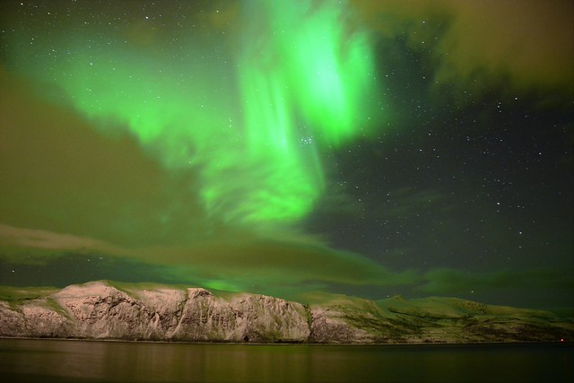 An Aurora like a flash | Norway