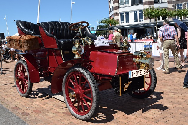 1904 Cadillac B Tonneau Surrey