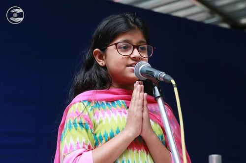 Sampriti from Delhi expresses her views